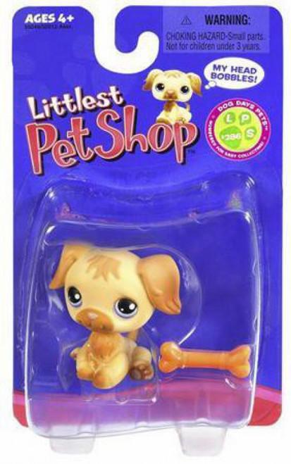 Littlest Pet Shop Golden Retriever Figure #286 [With Bone]