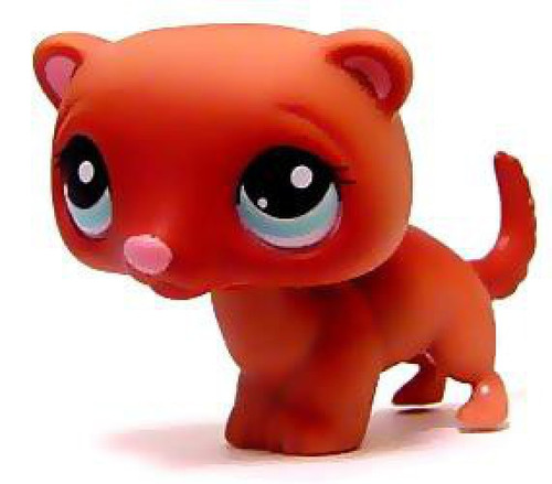 Littlest Pet Shop Ferret Figure #334 [Loose]