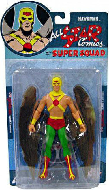 DC Reactivated Series 4 All Star Comics Super Squad Hawkman Action Figure