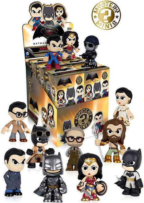 Funko DC Mystery Minis Batman v Superman Mystery Box [12 Packs]