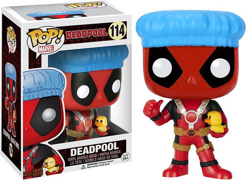 Funko POP! Marvel Deadpool Exclusive Vinyl Bobble Head #114 [Bath Time]