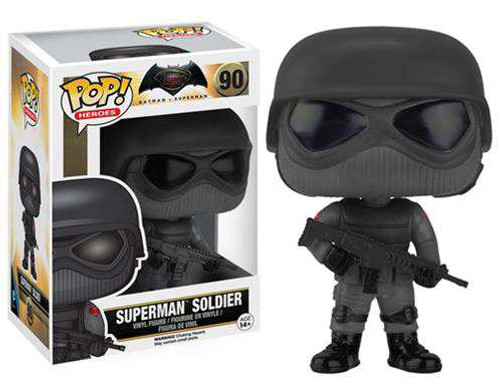 Funko DC Batman v Superman: Dawn of Justice POP! Movies Superman Soldier Vinyl Figure #90 [Dawn of Justice]