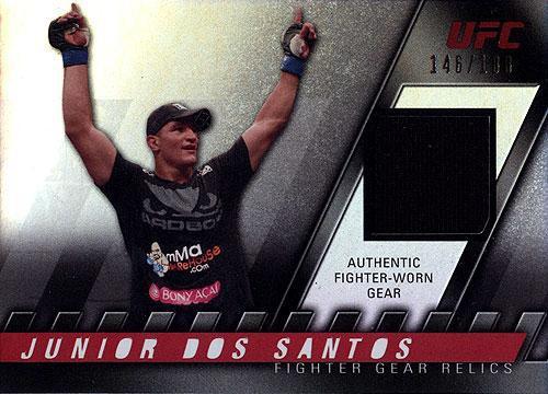 Topps UFC 2010 Knockout Relic Junior Dos Santos FG-JDS