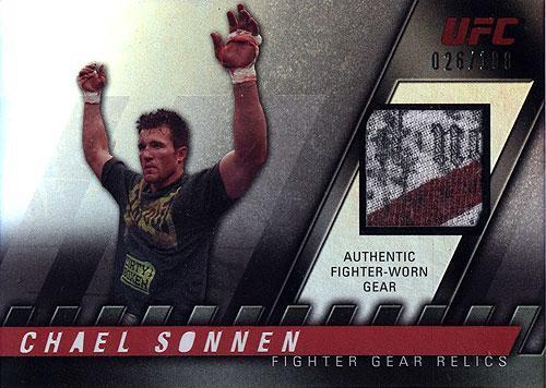 Topps UFC 2010 Knockout Relic Chael Sonnen FG-CS