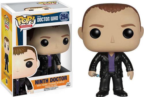 Funko Doctor Who POP! TV Ninth Doctor Vinyl Figure #294