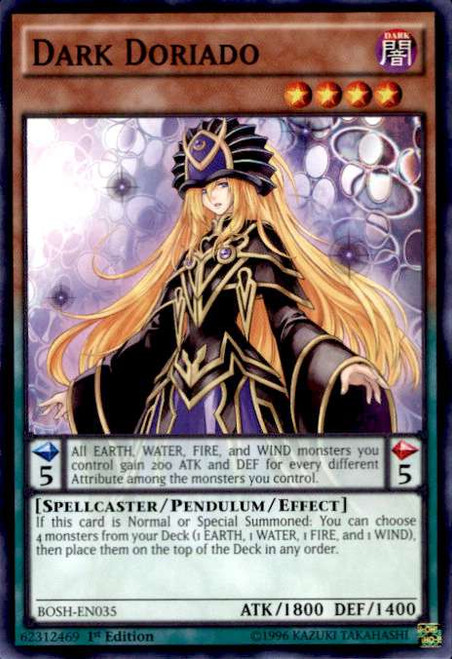YuGiOh Breakers of Shadow Common Dark Doriado BOSH-EN035