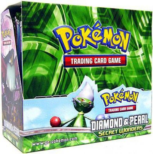 Pokemon Trading Card Game Diamond & Pearl Secret Wonders Booster Box [36 Packs]