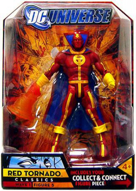 DC Universe Classics Metamorpho Series Red Tornado Action Figure #5