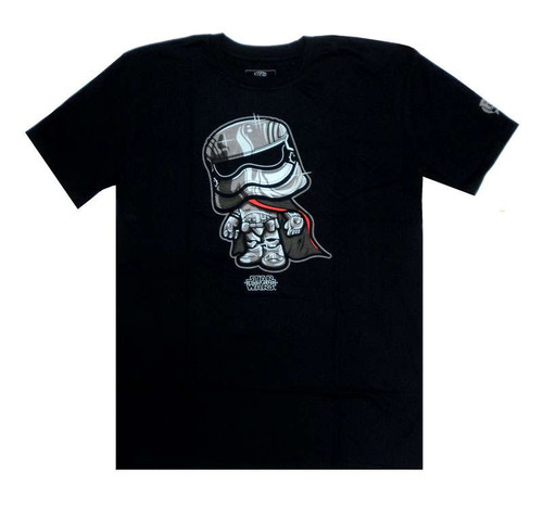 Funko The Force Awakens POP! Star Wars Captain Phasma T-Shirt [X-Large]