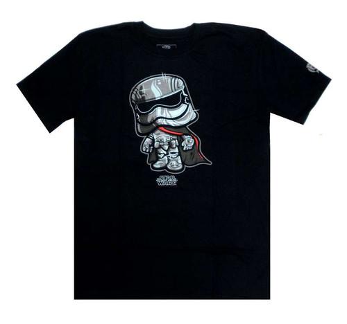 Funko The Force Awakens POP! Star Wars Captain Phasma T-Shirt [X-Large]