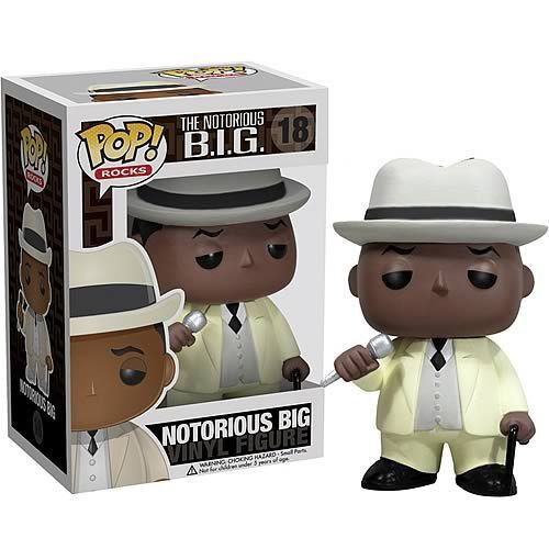 Funko POP! Rocks Notorious BIG Vinyl Figure #18 [Biggie Smalls]