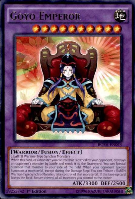 YuGiOh Breakers of Shadow Rare Goyo Emperor BOSH-EN044