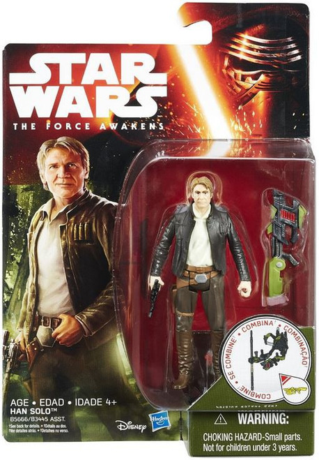 Star Wars The Force Awakens Jungle & Space Han Solo Action Figure