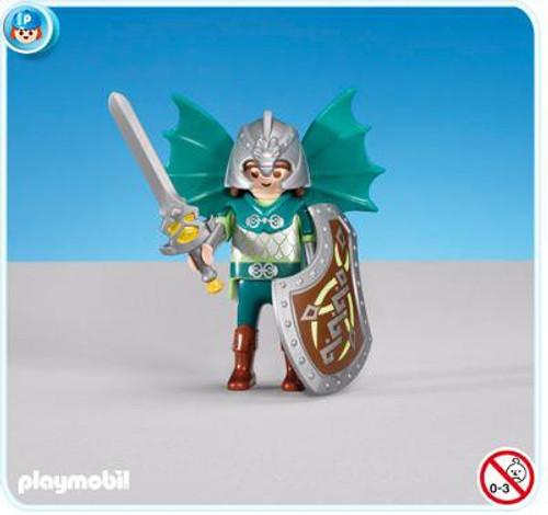 Playmobil Dragon Land Green Dragon Knights Leader Set #7972