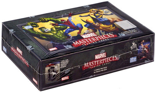 Skybox Marvel Masterpieces Series 1 Trading Card Box [36 Packs]