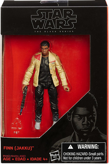 Star Wars The Force Awakens Black Series Finn Exclusive Action Figure [Jakku]