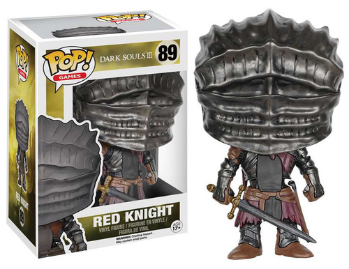 Funko Dark Souls III POP! Games Red Knight Vinyl Figure #89