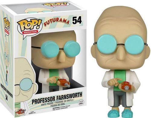 Funko Futurama POP! Animation Professor Farnsworth Vinyl Figure #54