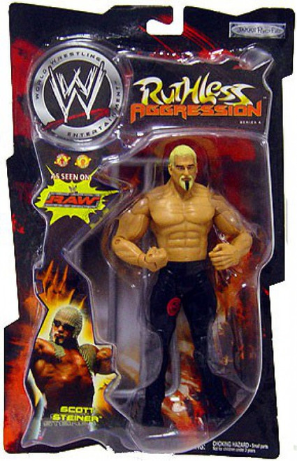 WWE Wrestling Ruthless Aggression Series 4 Scott Steiner Action Figure
