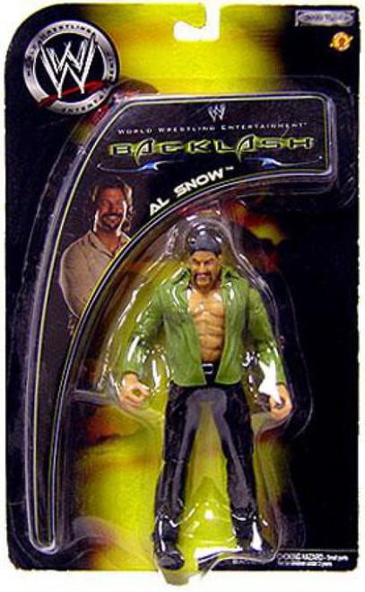 WWE Wrestling Backlash 2002 Al Snow Action Figure