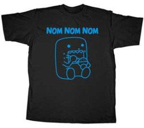 Domo Nom Nom Nom T-Shirt [Adult XL]