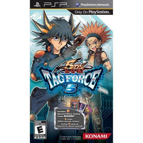 YuGiOh YuGiOh 5D's Sony PSP Tag Force 5 Video Game [Opened]