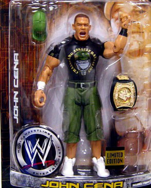 WWE Wrestling Ruthless Aggression Limited Edition John Cena Exclusive Action Figure [Marine Gear]