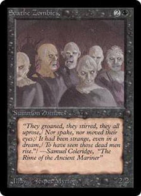 MtG Beta Common Scathe Zombies