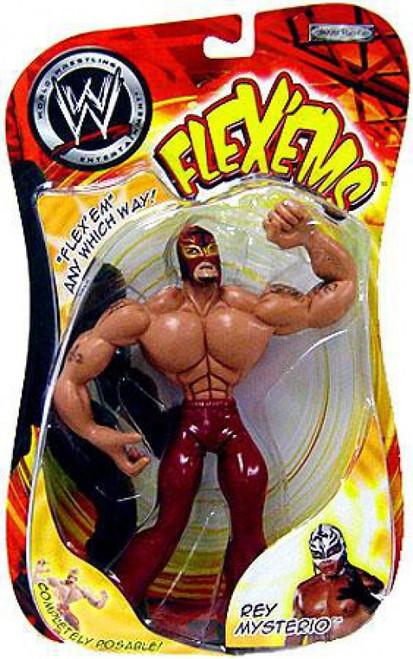 WWE Wrestling Flex'ems Series 9 Rey Mysterio Action Figure