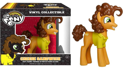 Funko My Little Pony Vinyl Collectibles Cheese Sandwich Exclusive Vinyl Figure
