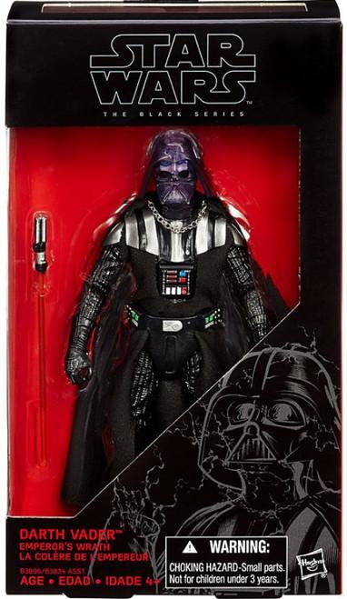 Star Wars Black Series Darth Vader Emperor's Wrath Exclusive Action Figure