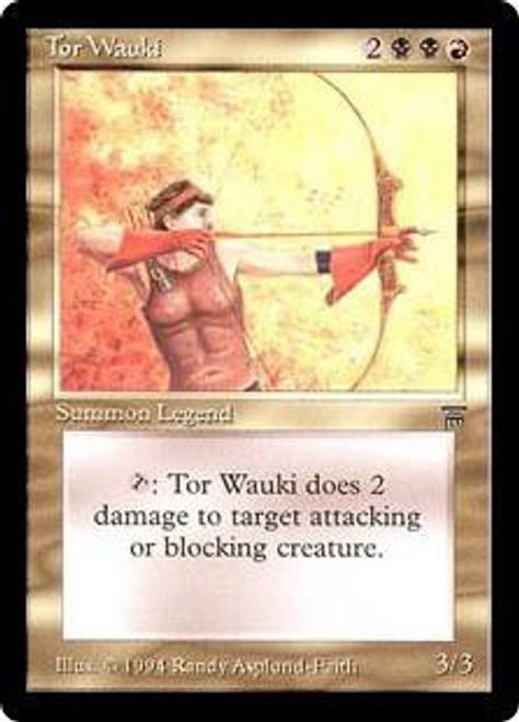 MtG Legends Uncommon Tor Wauki
