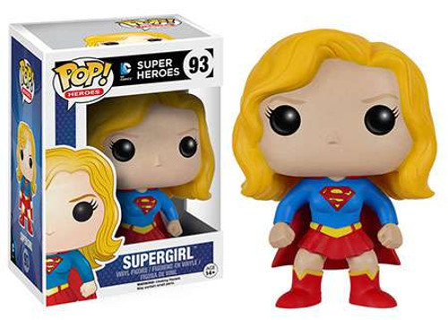 Funko DC Comics POP! Heroes Supergirl Vinyl Figure #93 [Original]