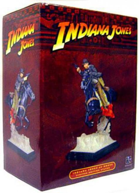 Indiana Jones On Horseback Statue