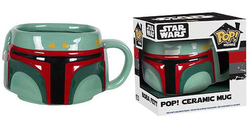 Funko Star Wars POP! Home Boba Fett Ceramic Mug