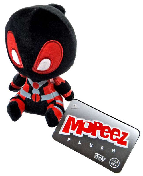 Funko Marvel Collector Corps Black Deadpool Mopeez Plush