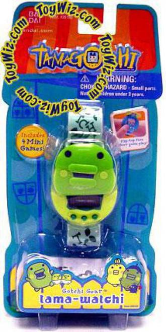 Tamagotchi Gotchi Gear Tama-Watchi Kuchipatchi Electronic Toy [Green]