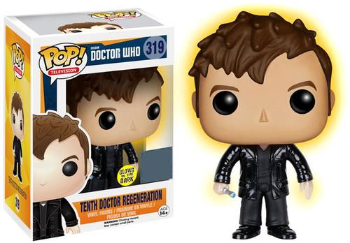 Funko Doctor Who POP! TV Tenth Doctor Regeneration Exclusive Vinyl Figure #319 [Glow-in-the-Dark]
