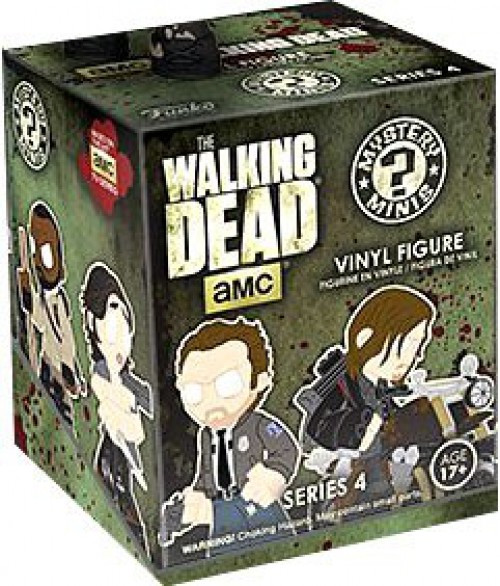 Funko The Walking Dead Mystery Minis Walking Dead Series 4 Mystery Pack [1 RANDOM Figure]