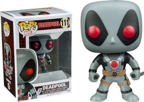 Funko POP! Marvel Deadpool Exclusive Vinyl Bobble Head #111 [X-Force]