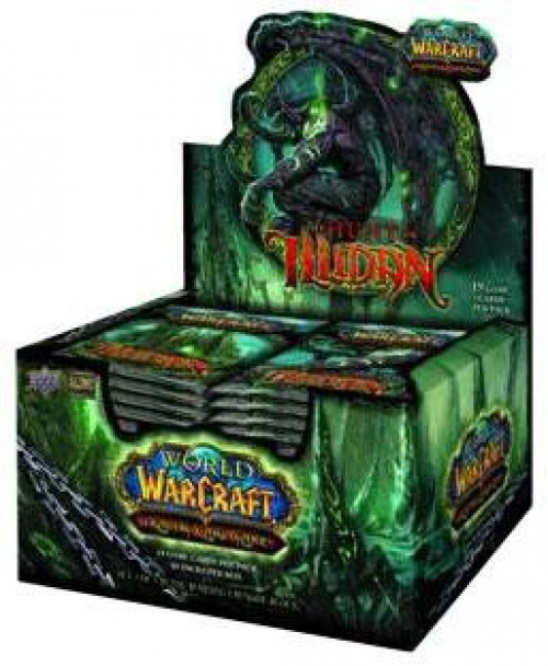 World of Warcraft Trading Card Game The Hunt for Illidan Booster Box [24 Packs]