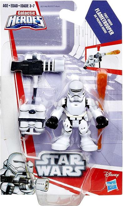Star Wars Galactic Heroes First Order Flametrooper Mini Figure