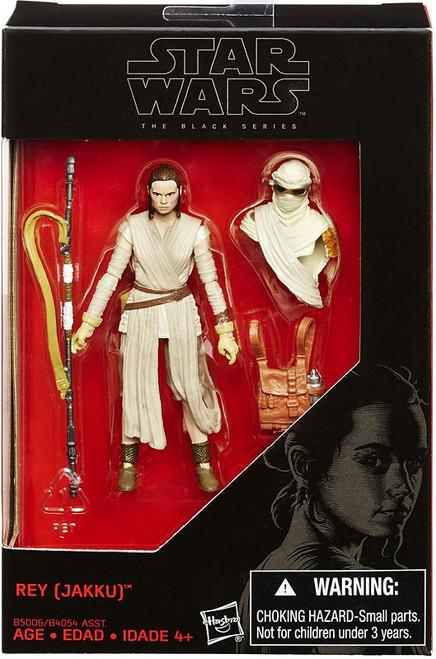 Star Wars The Force Awakens Black Series Rey (Jakku) Exclusive Action Figure