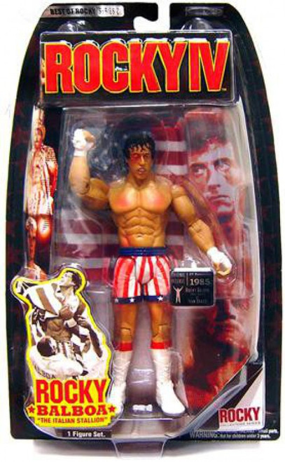 Rocky IV Best of Rocky Series 2 Rocky Balboa Action Figure [Post Fight]
