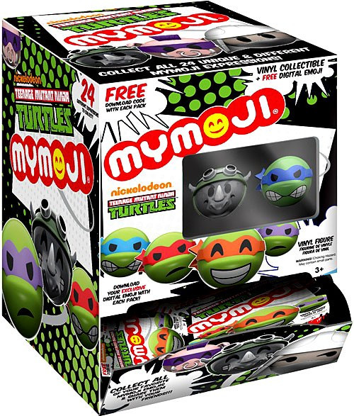 Funko MyMojis Teenage Mutant Ninja Turtles Mystery Box [24 Packs]