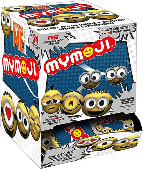 Funko Despicable Me MyMojis Minions Mystery Box [24 Packs]