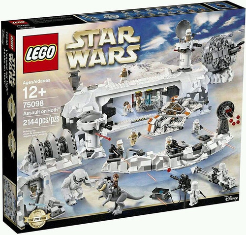 LEGO Star Wars The Empire Strikes Back Assault on Hoth Exclusive Set #75098
