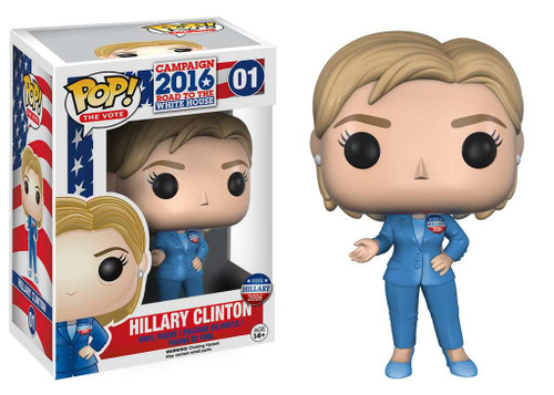Funko Political Pop! The Vote! Hillary Clinton Vinyl Figure #01