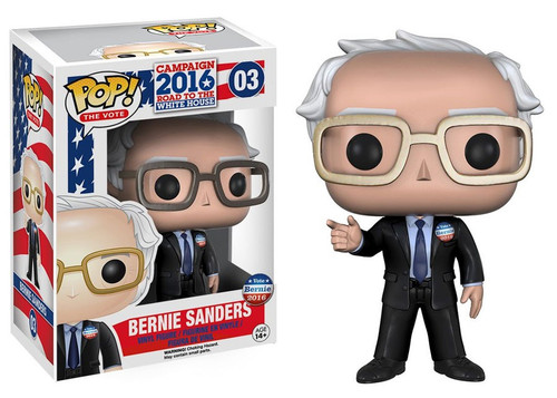 Funko Political Pop! The Vote! Bernie Sanders Vinyl Figure #03