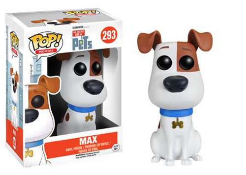 Funko The Secret Life of Pets POP! Movies Max Vinyl Figure #293